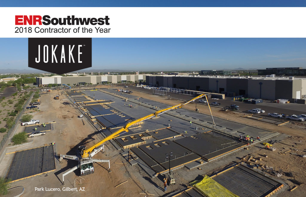 ENR Southwest 2018 Contractor of the Year